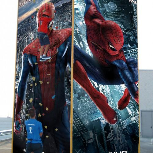 Spiderman rocodromo1